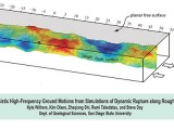 Deterministic High-Frequency Ground Motions from Simulations of Dynamic Rupture along Rough Faults