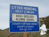 Alumni Highway Clean Up Day