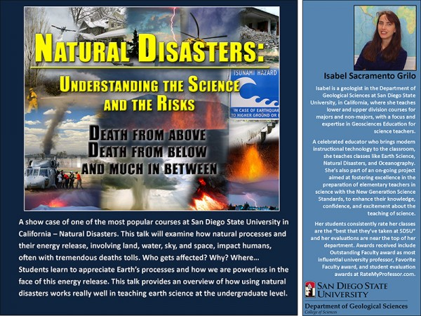 Isabelle ScramentoGrilo Natural Disasters Flyer