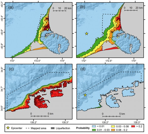 Earthquake-Induced Liquefaction Mapping