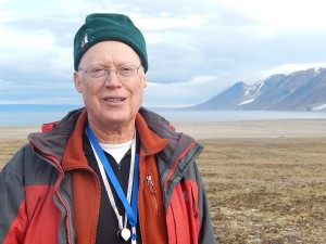 Monte Marshall on Baffin Island