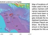 Statistics of Velocity Structure in the Los Angeles Area