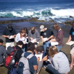 Students Learning in La Jolla
