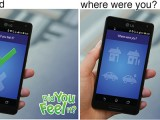 """Smartphone interface to USGS """"Did You Feel It?"""" Getting More Citizens Involved in Science"""