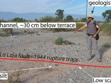 Inferring a Thrust‐Related Earthquake History from Secondary Faulting: A Long Rupture Record of La Laja Fault, San Juan, Argentina