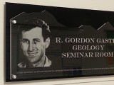 R. Gordon Gastil Geology Seminar Room Now Open