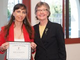 Isabelle SacramentoGrilo Honored as Favorite Faculty