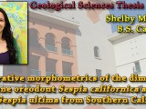Shelby Matsuoka – Comparative morphometrics of the diminutive Oligocene oreodont Sespia californica and the larger Sespia ultima from Southern California