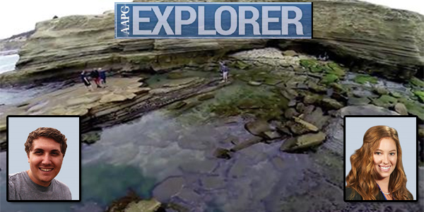SDSU's AAPG Student Chapter featured in the June 2014 Issue of AAPG Explorer
