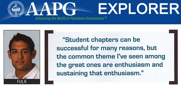 SDSU AAPG Student Chapter Breeds Professional Success