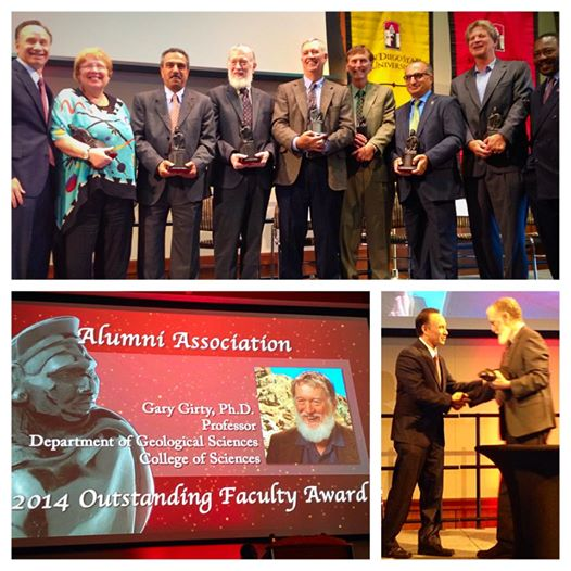 Girty 2014 Outstanding Faculty Award