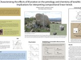 Characterizing the effects of illuviation on the petrology and chemistry of tonalitic saprock: Implications for interpreting compositional linear trends