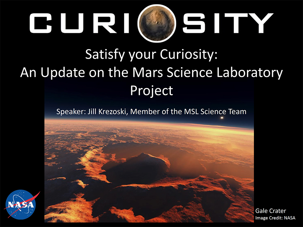 Satisfy your Curiosity: An Update on the Mars Science Laboratory Project