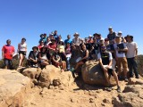 Geology 200 class summit Cowles Mnt