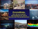 ExxonMobil Recruiting for Geoscientists