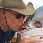 ME KISSING FISH-CROSSING EQUATOR