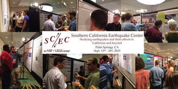 Students present their research at SCEC – Southern California Earthquake Center