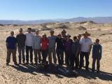 Geol 306 class mapping in San Felipe Hills