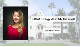SDSU Geology Alum on the news