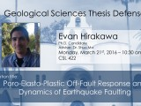 Thesis Defense – Evan Hirakawa