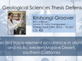 Thesis Defense – Krishangi Groover