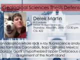 Thesis Defense – Derek Martin (BS)