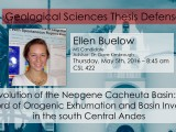 Thesis Defense – Ellen Buelow