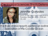 Thesis Defense – Jennifer Gonzales