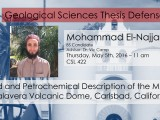 Thesis Defense – Mohammad El-Najjar