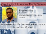 Thesis Defense – Preston Itie
