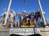Jillian Maloney and collaborators survey around the Channel Islands