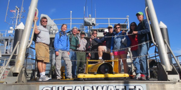 Jillian Maloney and collaborators survey around the Channel Islands