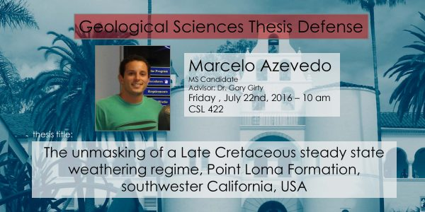 Thesis Defense – Marcelo Azevedo (MS)