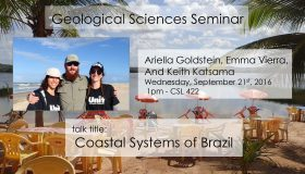 Seminar: September 21st at 1pm