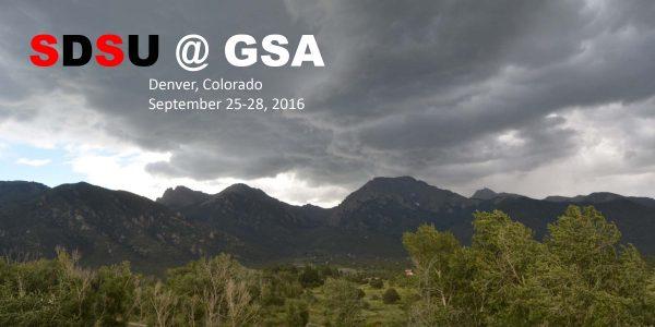 SDSU at 2016 GSA