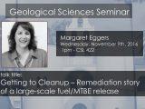 Seminar – Margaret Eggers