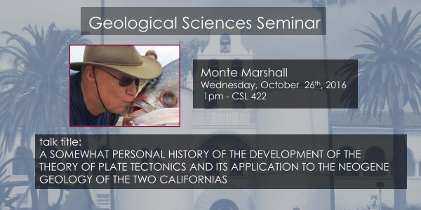 Seminar – Monte Marshall
