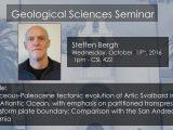 Seminar – Steffen Bergh