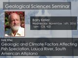 Seminar – Barry Keller
