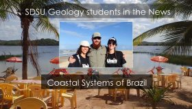 Geology Students in the news