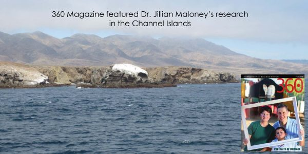 Dr. Jillian Maloney featured in 360 magazine