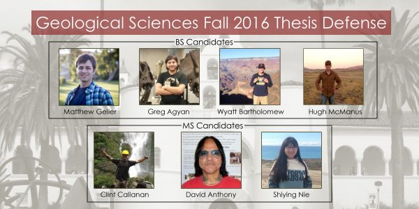 Fall 2016 Thesis Defense