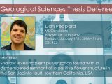 Thesis Defense – Dan Peppard