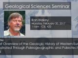 Seminar – Ron Blakey