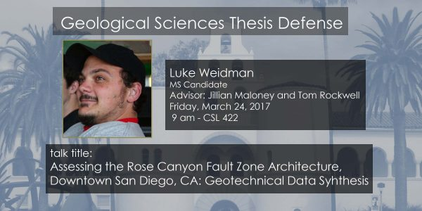 Thesis Defense – Luke Weidman (MS)