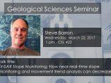 Seminar – Steve Borron