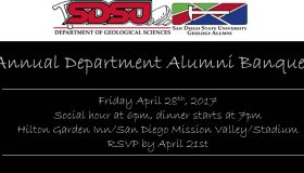Department Alumni Banquet – 2017