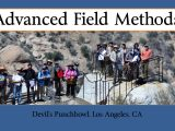 Advanced Field at the Devil's Punchbowl, Los Angeles, CA