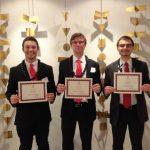 Chevron scholarship recepients