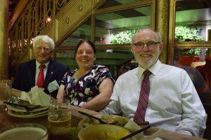 Kip Herring, Joan Kimbrough, and Dave Kimbrough